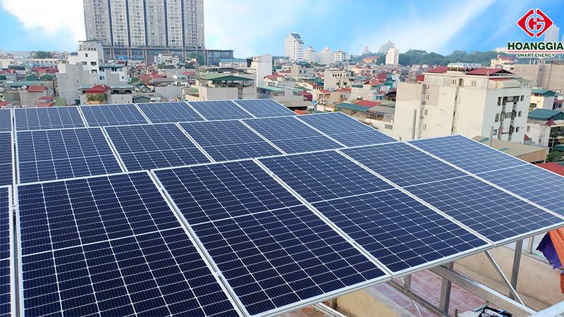 Điện mặt trời hòa lưới 30kw cho hộ gia đình tại Quận Ba Đình, Hà Nội